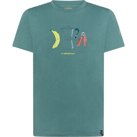 La Sportiva Breakfast Koszulka Mężczyźni, pine
